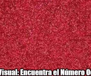 Test Visual: Encuentra el Número Oculto