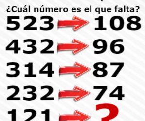 Encuentra el Número que Falta en esta Operación; Usa la Lógica