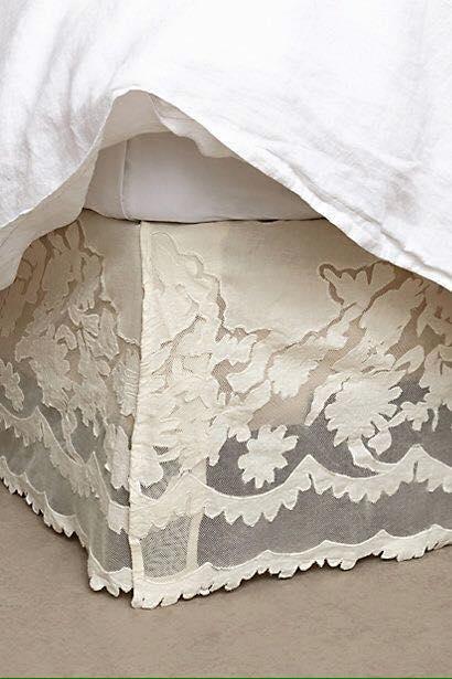Dale estilo a tu cama con bonitas faldas para colchon - Come rivestire internamente un baule ...