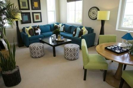 buenos ejemplos de como decorar una sala pequea - Como Decorar Una Sala