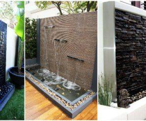 12 Espectaculares Ideas para Construir un Muro Llorón en tu Patio