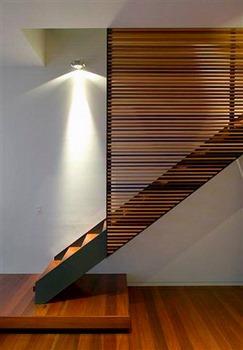 Barandas Escaleras Modernas Simple Free Pasamanos U Herreria