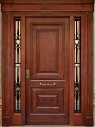 Puertas modernas los m s asombrosos dise os for Modelos de puerta de madera para casa