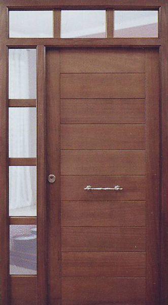 Puertas modernas los m s asombrosos dise os for Puertas de madera con herreria