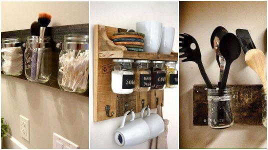 13 ideas para organizar tu cocina con tarros de vidrio for Ideas para la cosina