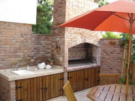 Asadores y hornos rusticos para tu patio - Fotos de barbacoas rusticas ...