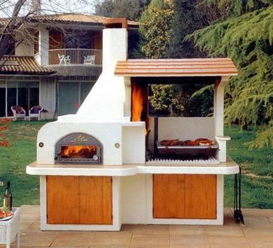 Asadores y hornos rusticos para tu patio for Asadores de jardin rusticos