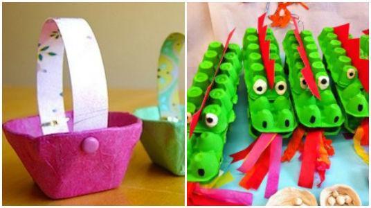 Manualidades Creativas Que Puedes Hacer Con El Carton De Huevos Recicla - Manualidades-creativas