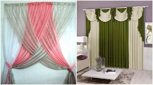 13 creativas decoraciones que puedes hacer con las for Decoracion de cortinas