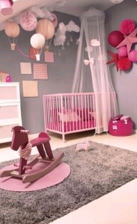 mira como puedes decorar la habitacin de tu beb nia - Habitacion Bebe Nia
