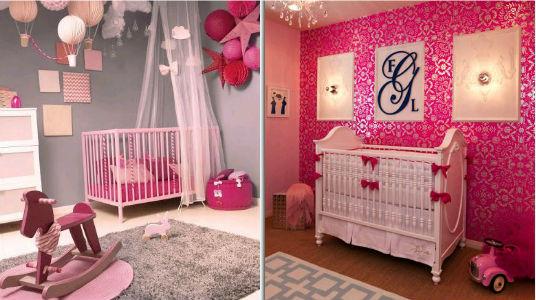 Mira como puedes decorar la habitaci n de tu beb ni a - Habitacion de bebe nina ...