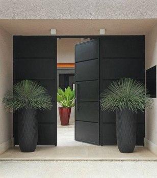 Dise os modernos para la puerta principal de tu casa for Disenos de puertas de entrada principal