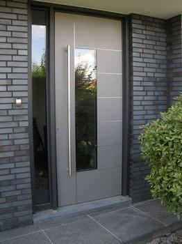 Dise os modernos para la puerta principal de tu casa for Puertas principales de cristal