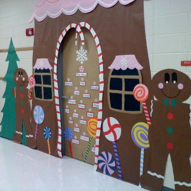 Ideas Para Decorar Puertas En Navidad.15 Ideas Para Decorar Tus Puertas Con El Tema Navideno Hermosas