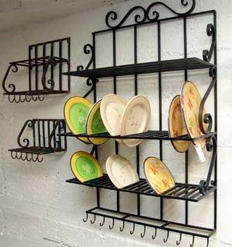 Accesorios de herreria para decorar tu casa 15 ideas for Muebles de cocina de hierro