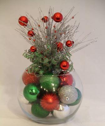 Crea hermosos adornos navide os con recipientes de vidrio f cil y sencillo - Adornos navidenos sencillos ...