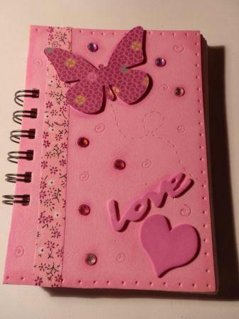 15 Ideas Para Decorar Cuadernos Para Niñas
