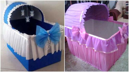 Hermosas cunas decorativas para baby shower 15 ideas - Cunas bonitas para bebes ...