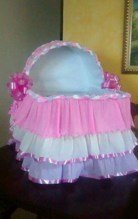 Hermosas Cunas Decorativas para Baby Shower 15 Ideas
