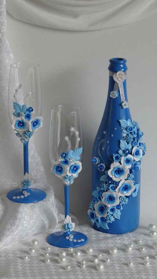 conoce las decoraciones de botellas de vidrio m s hermosas