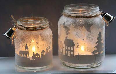 10 ideas para decorar frascos de vidrio for Envases de vidrio decorados