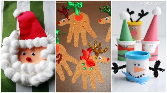 15 manualidades navide as para ni os mucha creatividad On manualidades navidenas recicladas para ninos