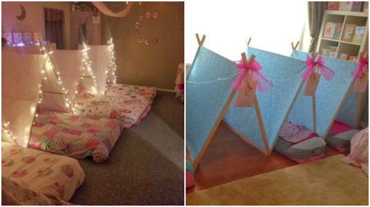 15 ideas para decorar y organizar una fiesta pijamada - Cosas para decorar una fiesta ...