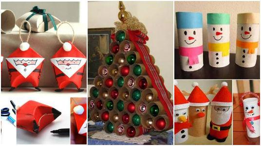 Adornos de navidad con carton great navidad por mayor for Adornos de navidad con carton
