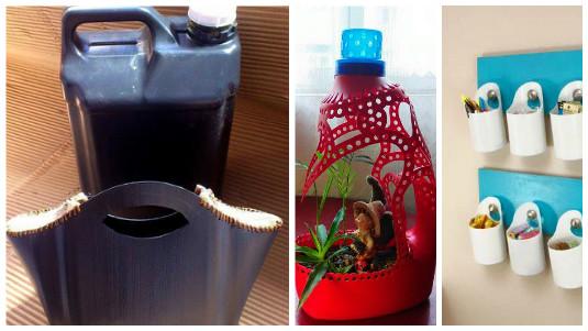 15 fabulosas formas de reciclar botellones de pl225stico