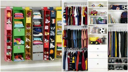 Ideas De C 243 Mo Ordenar Los Closets Para Ni 241 Os