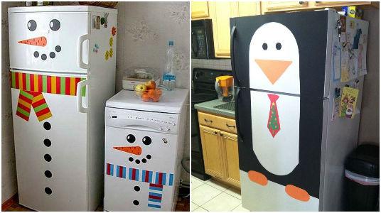 15 ideas para decorar los refrigeradores nevera con el - Decoracion de neveras ...