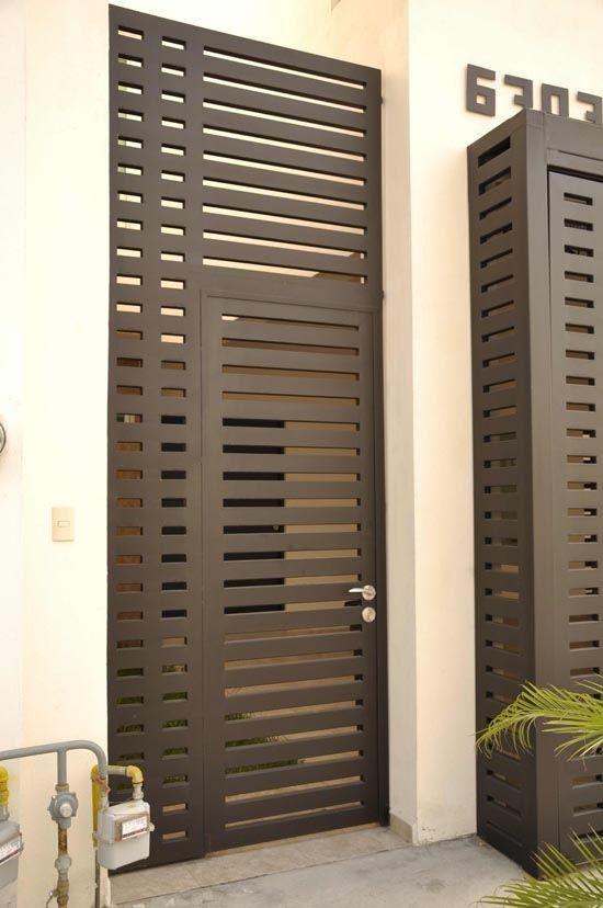 Dise os de puertas de herrer a m s modernas y m s hermosas - Puertas disenos modernos ...