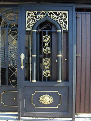 Dise os de puertas de herrer a m s modernas y m s hermosas - Disenos de puertas ...