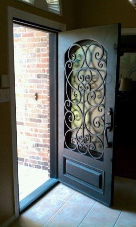 Dise os de puertas de herrer a m s modernas y m s hermosas for Lo ultimo en puertas de interior