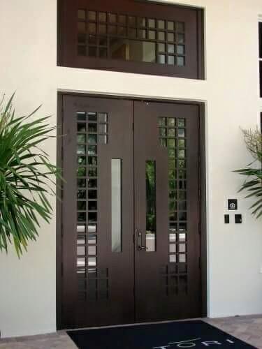 Espectaculares dise os de puertas modernas for Disenos de puertas modernas