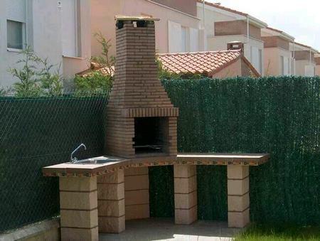 15 ideas de asadores para tu jard n for Asador para jardin
