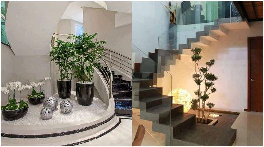 Decoraciones que puedes hacer debajo de tu escalera for Decoracion de espacios bajo la escalera
