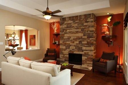 Ideas para recubrir las paredes con piedra - Color piedra pintura pared ...