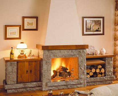 Hermosos dise os de chimeneas - Tipos de lena para chimeneas ...