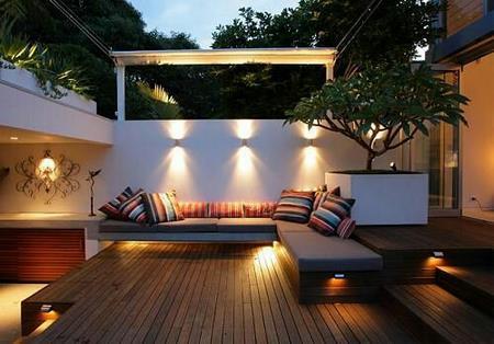 Bellísimas Iluminaciones Para Tu Patio O Terraza