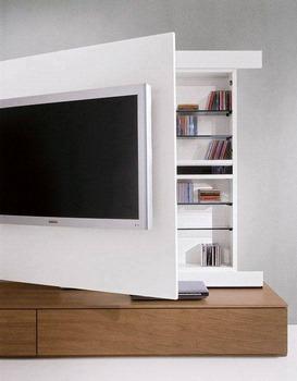 Creativos muebles para la televisi n 15 ideas for Muebles la favorita