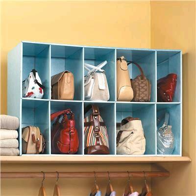 ideas para organizar bolsos y ganar espacio. Black Bedroom Furniture Sets. Home Design Ideas