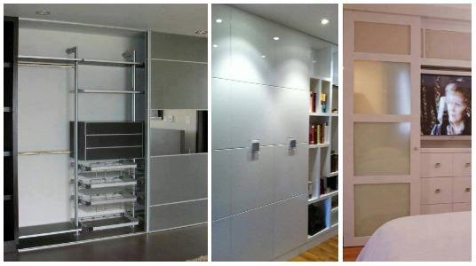 Cl sets modernos y funcionales for Closets pequenos y funcionales