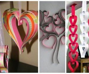 14 de Febrero ya está aquí, Llena de Amor y Corazones tus Espacios