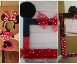 Minnie o Mickey en Marcos Gigantes para tu Fiesta Infantil