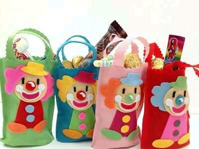 Creativos y Bellos Payasos para Fiestas Infantiles