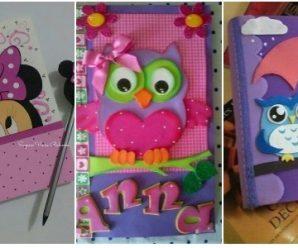 Forra tus Cuadernos con estos Bellos Decorativos Infantiles