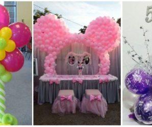 Decora tu Fiesta con Globos; Hermosas Ideas