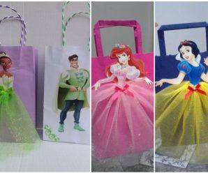 Ideas para elaborar dulceros de princesas