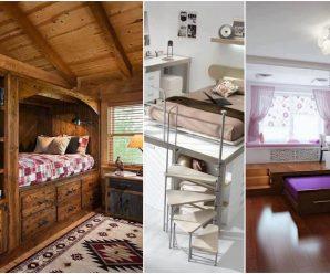 Ahorra espacio y embellece tu habitación